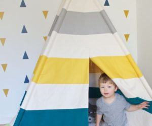 DIY Toddler Teepee