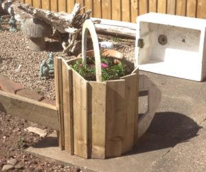 wood pallets for planting