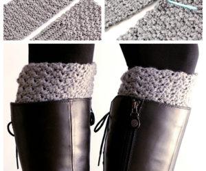 crochet boot cuffsreversible