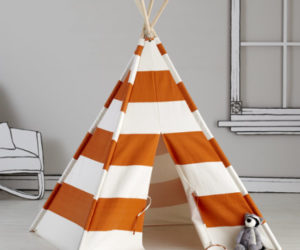 Fabric DIY Teepee
