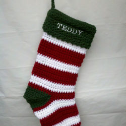 best crochet christmas stocking