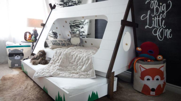 DIY Teepee Bed
