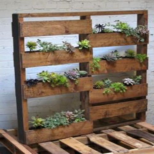 How to make a wood pallet planter diy ideas