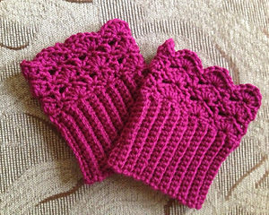 Belmont Boot Cuffs Crochet Pattern