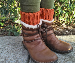 Boot Sock Cuffs Crochet Pattern