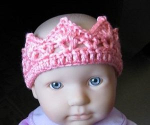 Crochet Crown for Baby