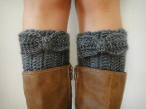 quick and easycrochet boot cuffs