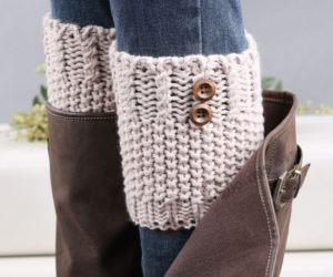 crochet boot cuffs instructions