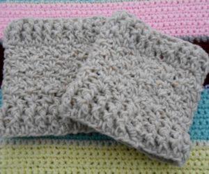 Crochet Central Boot Cuffs Pattern