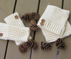 creative crochet boot cuffs