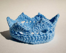 crochet crown pattern for boy