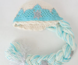 Crochet Elsa Crown Free Pattern