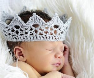 crochet lace crown pattern