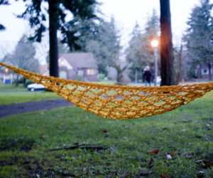 Paracord Hammock Design