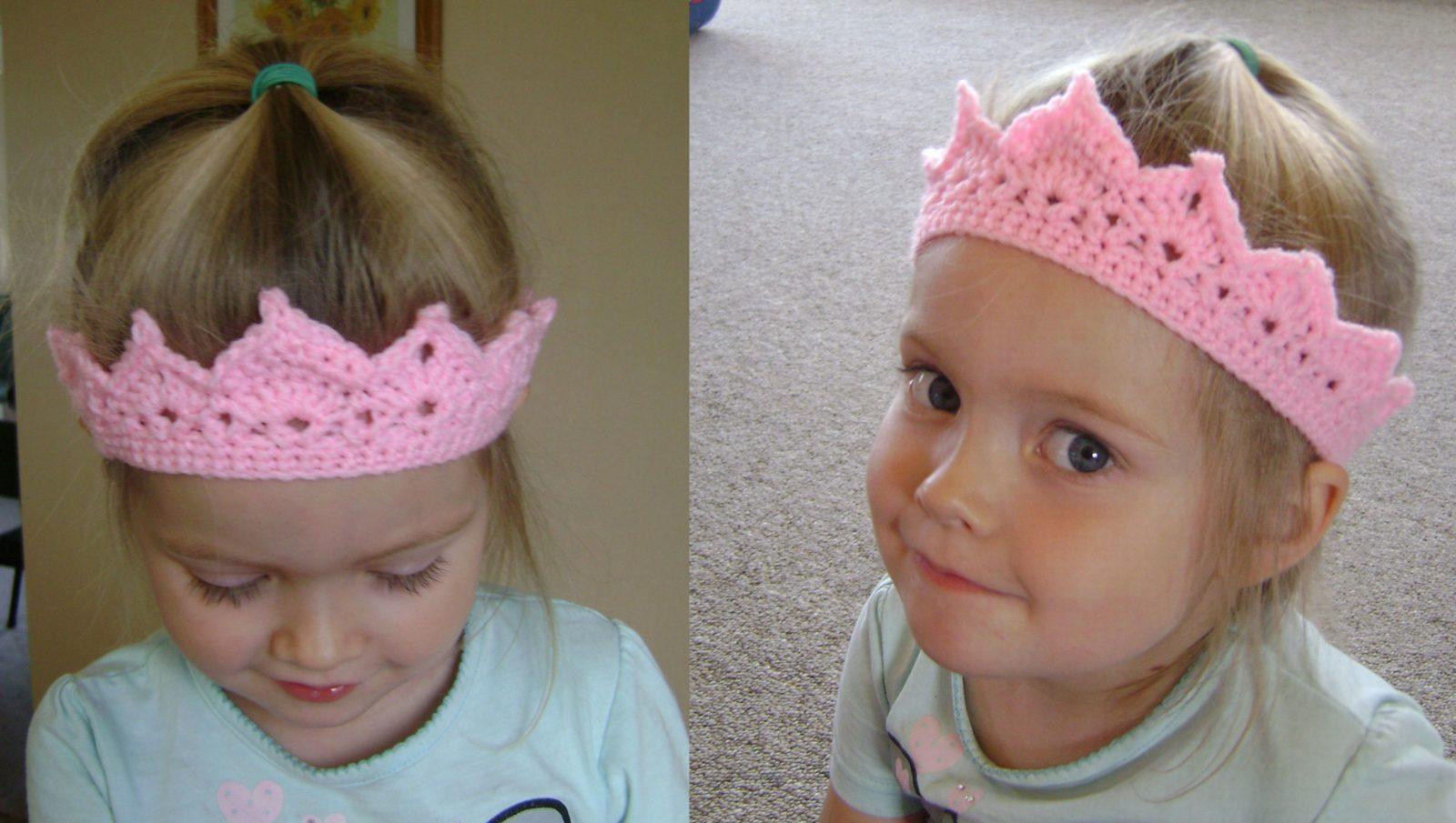 Crochet Princess Crown Patterns