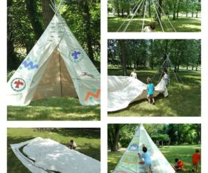 DIY Teepee for Boys and Girls