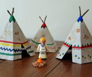 diy teepee school project