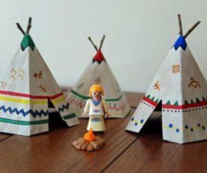 diy teepee school project