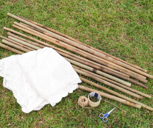 teepee making kit
