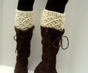 Vintage Inspired Boot Cuffs Crochet Pattern