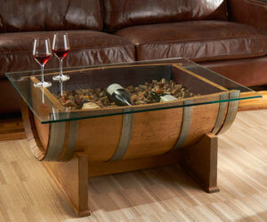 Barrel Accent Table