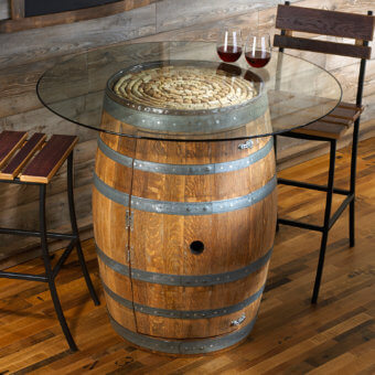 24 Inspiring DIY Barrel Tables