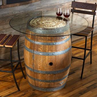 24 Inspiring DIY Barrel Tables