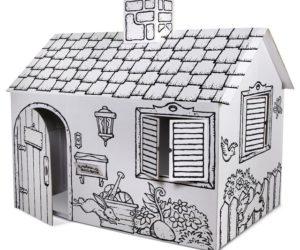 Fun Cardboard Playhouse
