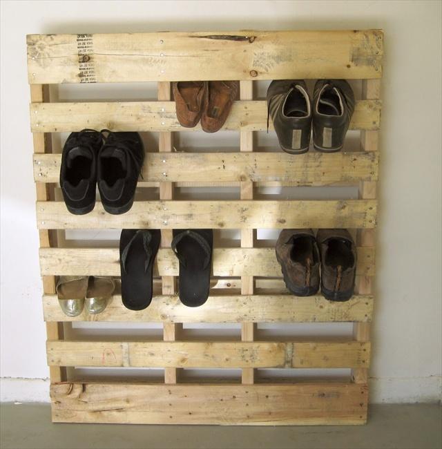 30 pallet shoe rack ideas to suit different tastes - patterns hub