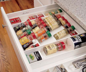 DIY Spice Rack Drawer
