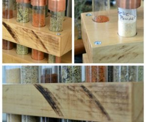 How to Build a Spice Rack