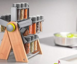 DIY Spice Rack