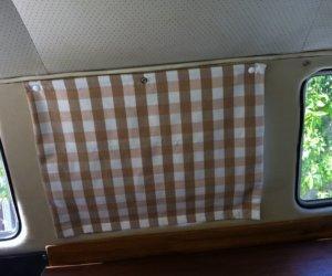 No-Sew Pop-up Camper Curtains