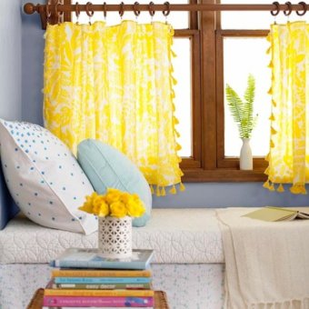 34 Inspiring No-Sew Curtains For Your Windows