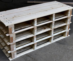 diy wood pallet shoe rack