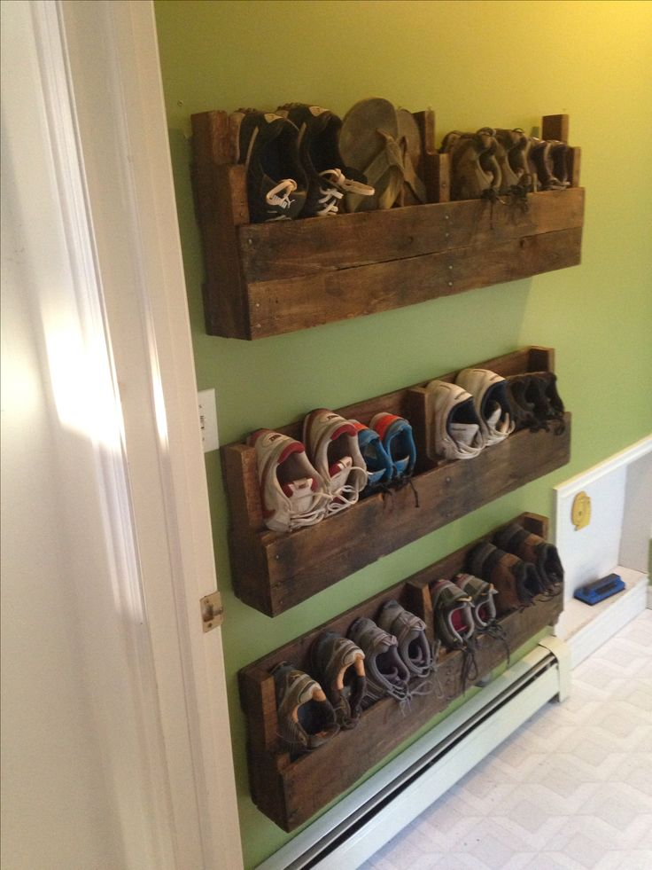 Make And Take Room In A Box Elizabeth Farm: 30 Pallet Shoe Rack Ideas To Suit Different Tastes