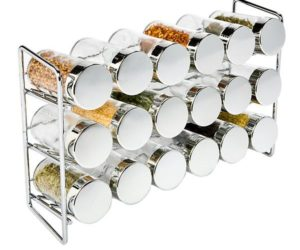 Spice Rack Bottles