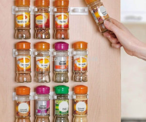 DIY Wooden Spice Rack