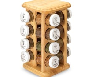 DIY Wood Spice Rack