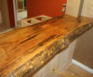 Wooden Countertop Picture