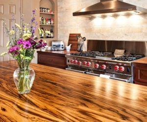 wood countertops walnut