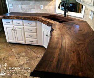 wood countertops kitchen ideas