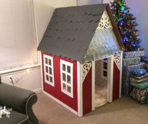 diy cardboard playhouse plans