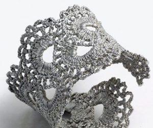 Crochet Lace Cuff Bracelet