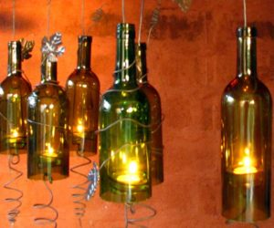 Candle Holders For Wine Bottles