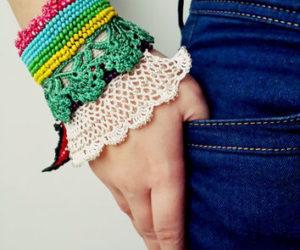 Lacy Crochet Bracelet Pattern