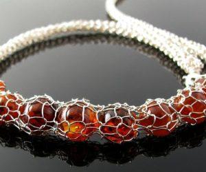 Crochet Wire Bracelet