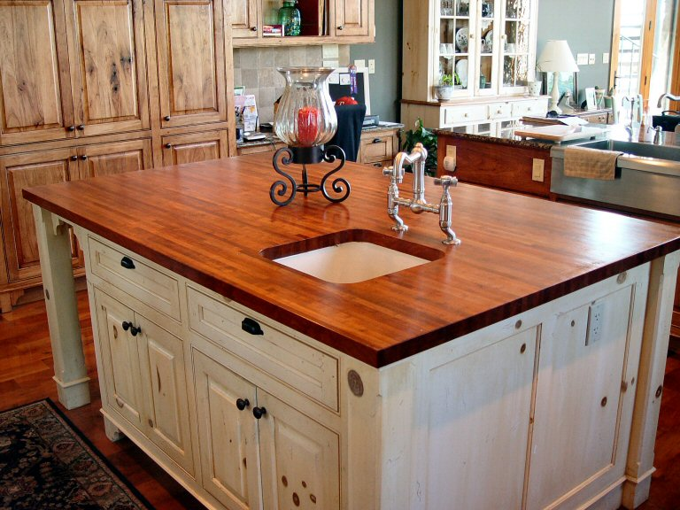 wood countertops diy 20 ideas for installing a wooden countertop at your home 641