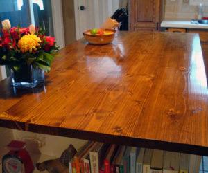 Wooden countertopsdiy
