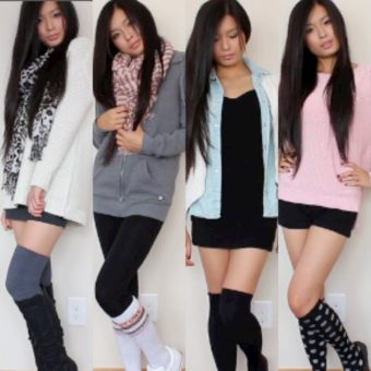 11 Different Patterns for Knee High Socks